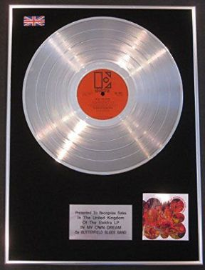 Butterfield Blues Band - LP Platinum Disc - In My Own Dream